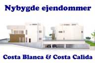 Nybygde eiendommer Costa Blanca - Costa Calida